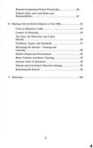 Reforming Schools in the 1980s PDF