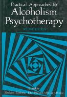 Practical Approaches to Alcoholism Psychotherapy PDF