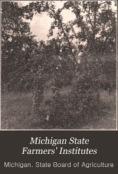 Michigan State Farmers' Institutes