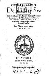 Commentario de la guerra de Alemaña, hecha de Carolo V. en el an. 1546 y 1547