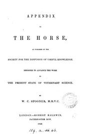 Appendix to The horse [of W. Youatt].