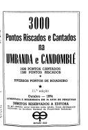 3000 pontos riscados e cantados na umbanda e candombl   PDF