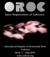 OROC Book I: International Register of Ornamental Plant Cultivars
