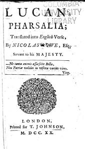 Lucan's Pharsalia: Volume 2