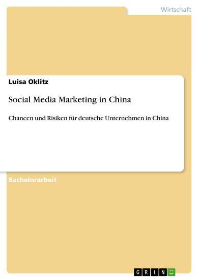Social Media Marketing in China PDF
