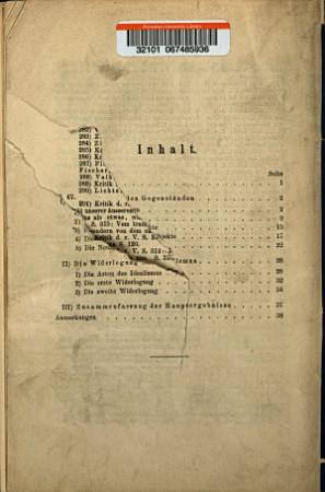 Ist die metaphysische Grundlage von Kant s Erkenntnistheorie idealistisch oder realistisch aufzufassen  PDF