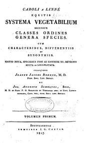 Systema Vegetabilium: Volume 1