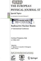 Radioactive Nuclear Beams PDF
