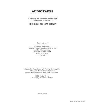 Audiotapes PDF