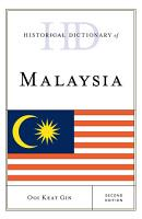Historical Dictionary of Malaysia PDF