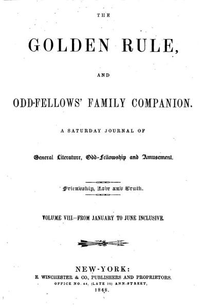Download The Golden Rule and Odd fellows Family Companion Book
