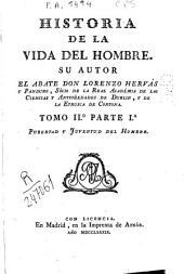 Historia de la vida del hombre: Pubertad y juventud del hombre, Volumen 2