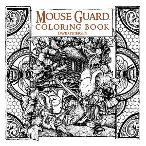 Mouse Guard  Coloring Book Book