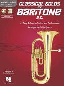 Classical Solos for Baritone B  C  PDF