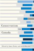 Conservatism in Canada PDF