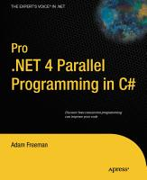 Pro  NET 4 Parallel Programming in C  PDF