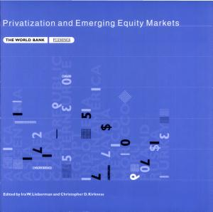 Privatization and Emerging Equity Markets PDF