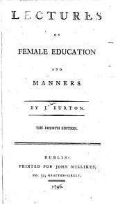 Lectures on female education and manners