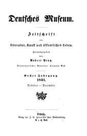 Deutsches Museum: Bände 1-2