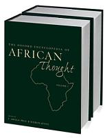 The Oxford Encyclopedia of African Thought PDF