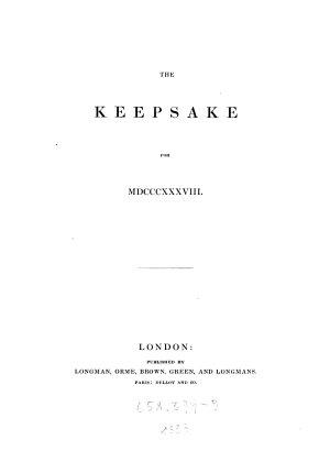 The Keepsake PDF