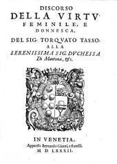 Discorso Della Virtu Feminile, E Donnesca