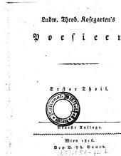 Erster Theil: Volume 1