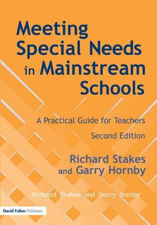 Meeting Special Needs in Mainstream Schools PDF