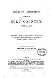 Précis of information concerning the Zulu country