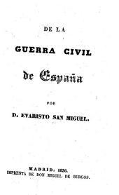 De la guerra civil de España