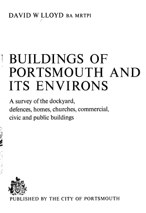Buildings of Portsmouth and Its Environs