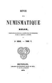 Revue belge de numismatique et de sigillographie: Volumes29à30