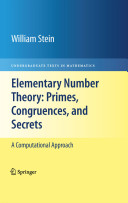 Elementary Number Theory  Primes  Congruences  and Secrets PDF