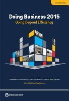 Doing Business 2015 PDF
