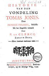 Historie van den vondeling Tomas Jones: Volume 1