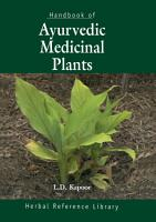 Handbook of Ayurvedic Medicinal Plants PDF