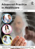 Advanced Practice in Healthcare PDF