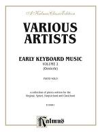 Early Keyboard Music, Volume II