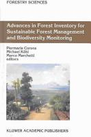 Advances in Forest Inventory for Sustainable Forest Management and Biodiversity Monitoring PDF