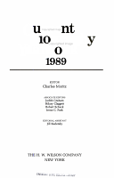 Current Biography Yearbook 1989 PDF