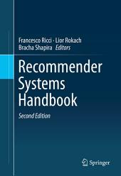 Recommender Systems Handbook: Edition 2