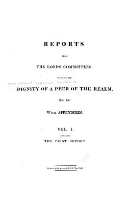 First report  25th May 1820