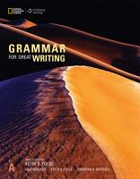 Grammar for Great Writing A PDF