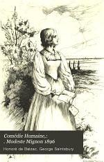 Comédie Humaine: Modeste Mignon 1896