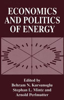 Economics and Politics of Energy PDF