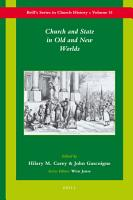 Church and State in Old and New Worlds PDF