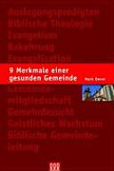 9 Merkmale einer gesunden Gemeinde PDF