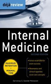 Deja Review Internal Medicine, 2nd Edition: Edition 2