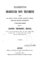 Grammatica graecitatis Novi Testamenti