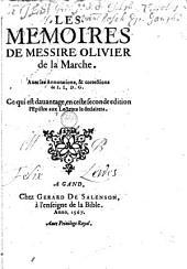 Les mémoires de messire Olivier de la Marche